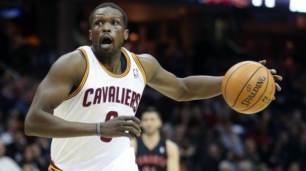 Luol Deng with Cavaliers
