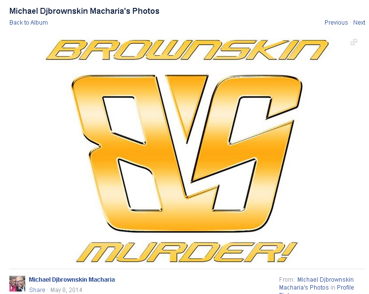 Brownskin logo used by both Micheal and Hamisi