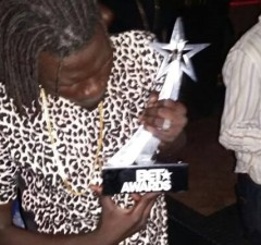 Cool B with BET Trophy