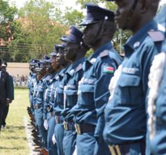 South Sudan police