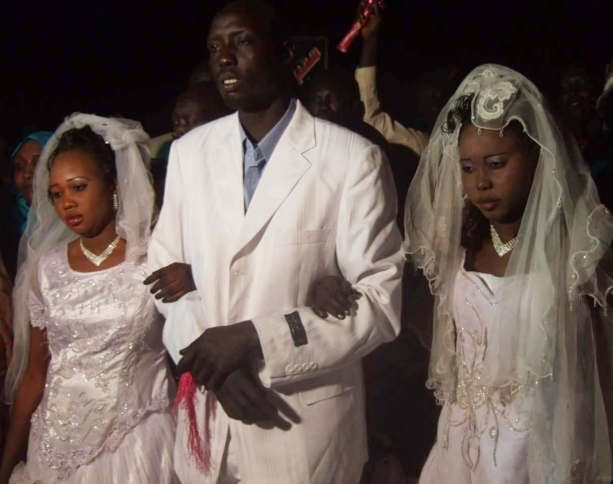 man marries two woman
