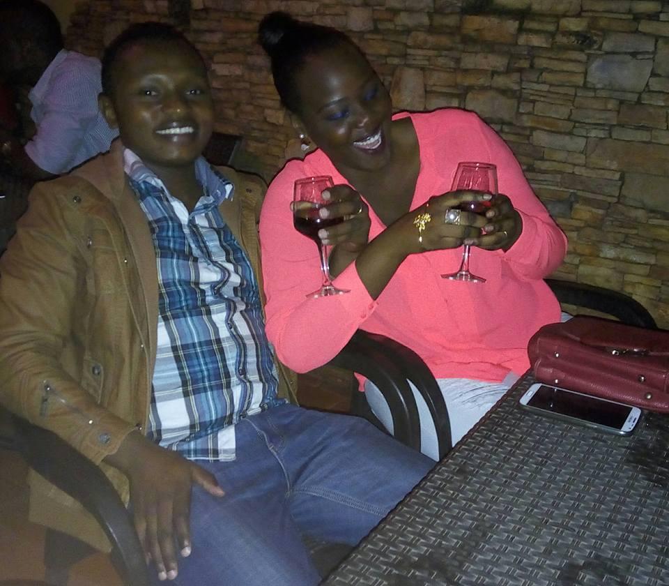 Iritu drinking with Smuzz