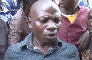 Wilber Kibagendi, the woman's husband. PHOTO | SCREENSHOT