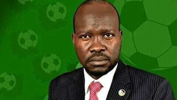 businessman Francis Amin has been elected the new South Sudan Football Association president replacing the former controversial president Chabur Goc