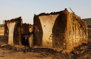 House burnt down