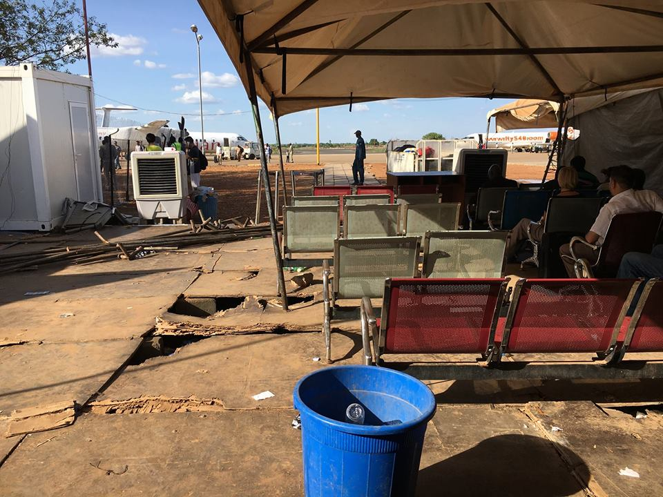 This Photos Of Juba International Airport Departure