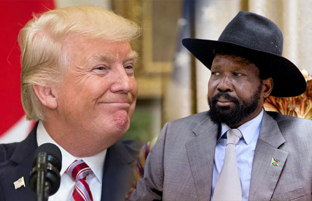 Trump and Kiir
