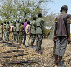 Riek Machar's child soldiers