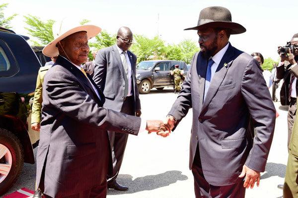 Kiir and Museveni