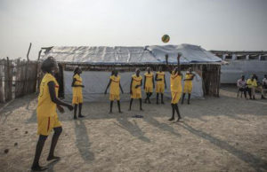 South Sudan volleyball team