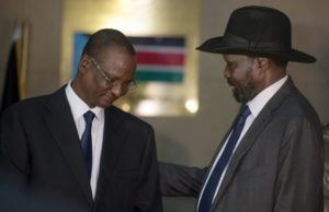 Taban and Kiir solve Latjor cabinet deadlock