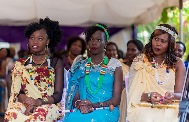 Wedding in South Sudan