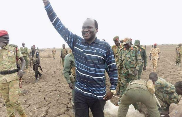 Maiwut governor Bol Rom Ruach