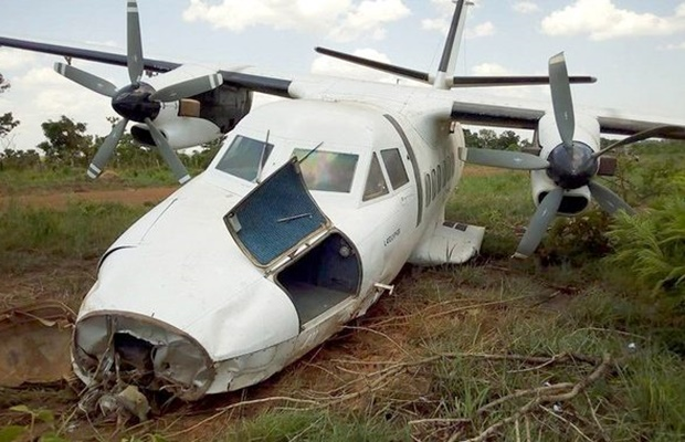 Plane Crash in Maban