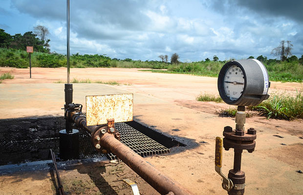 oil well in South Sudan