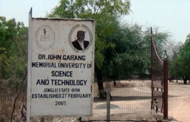 Dr. John Garang Memorial Universityn of Science and Technology