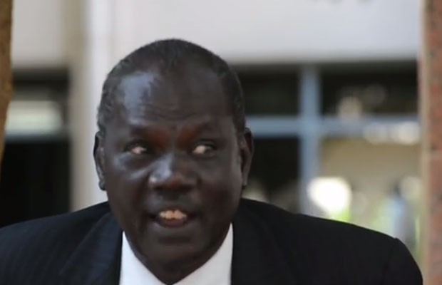 South Sudan Minister of Information: Makuei Leuth