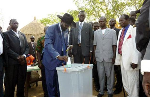 kiir votes