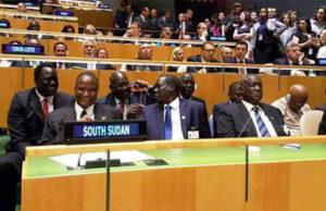 Taban Deng at UN