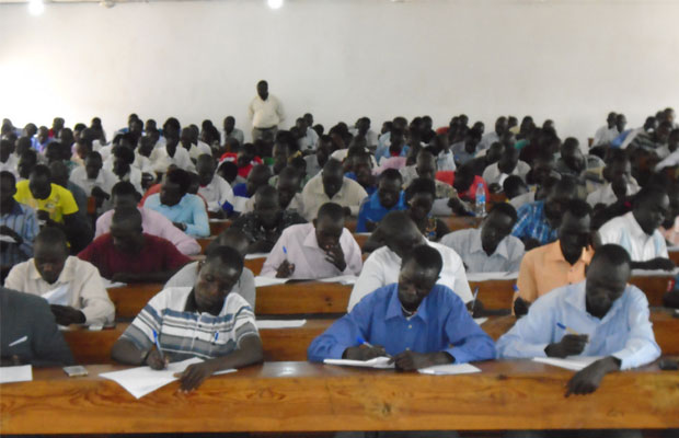 Juba University Students