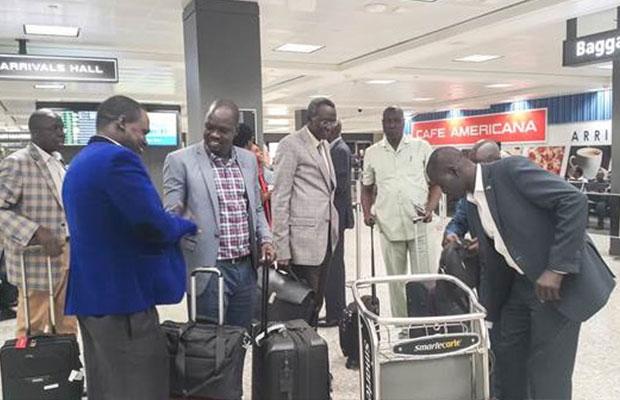 South Sudan delegation