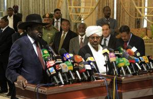 Kiir and Bashir