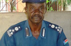 Police Spokesperson Brigadier Daniel Justine