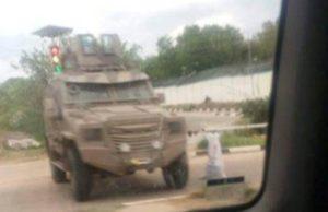 SPLA APC deployed in Juba