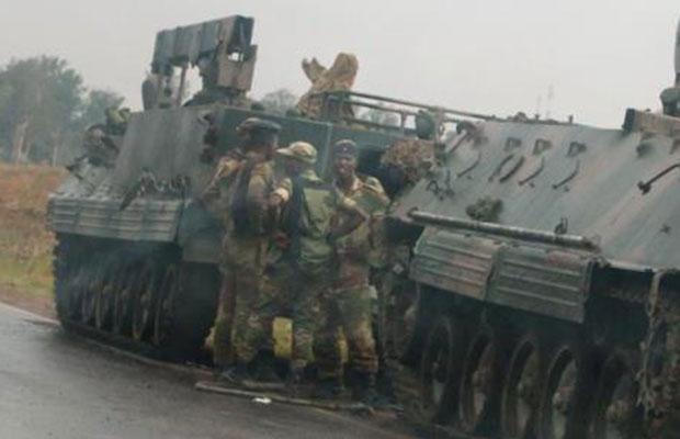 Ziimbabwe coup