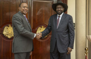 uhuru and Kiir