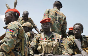 South Sudan army
