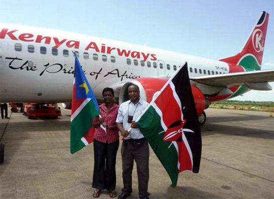 KQ in Juba