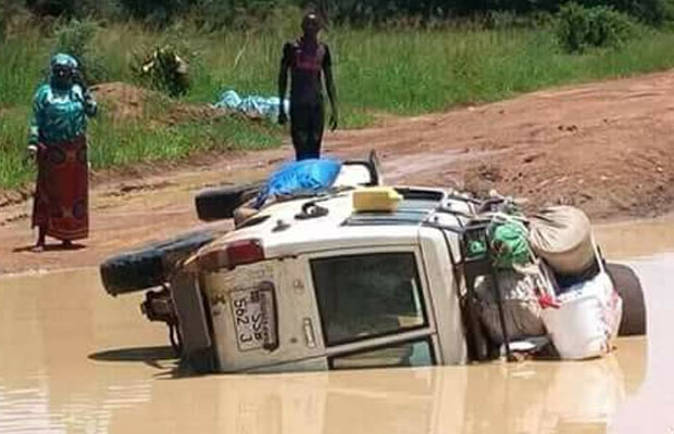 The sorry state of roads in South Sudan PHOTO: Courtesy