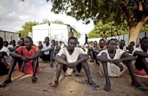 prisoners of war in South Sudan