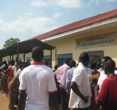 Immigration office Juba