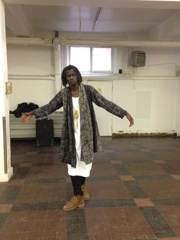 Emmanuel Jal dress