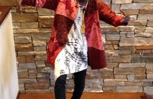 Emmanuel Jal woman dress