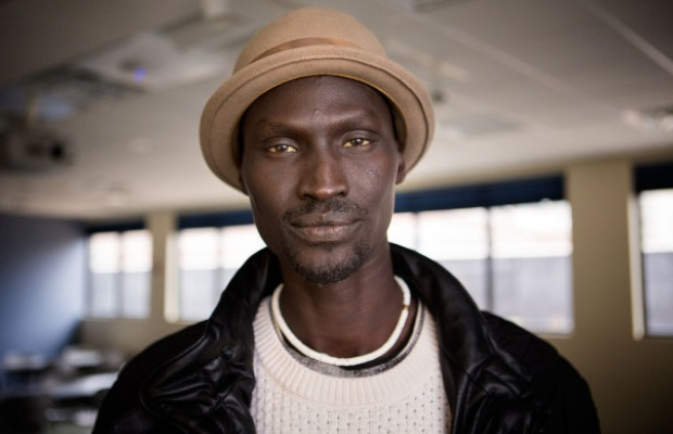 S. Sudanese male model pose for a photo completely naked [Photo]