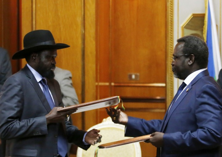 Leaked AU report calls for exclusion of Kiir and Riek in leading the country