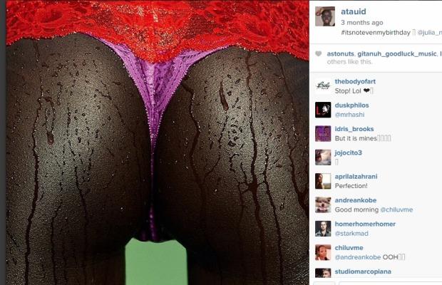 Atau's vagina on IG