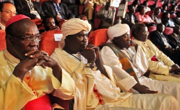 Religious leaders in file photo