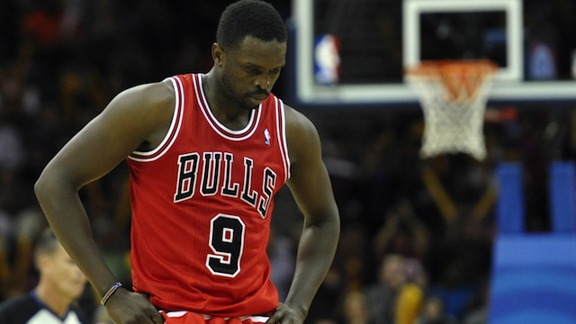 LUOL DENG with Chicago Bulls