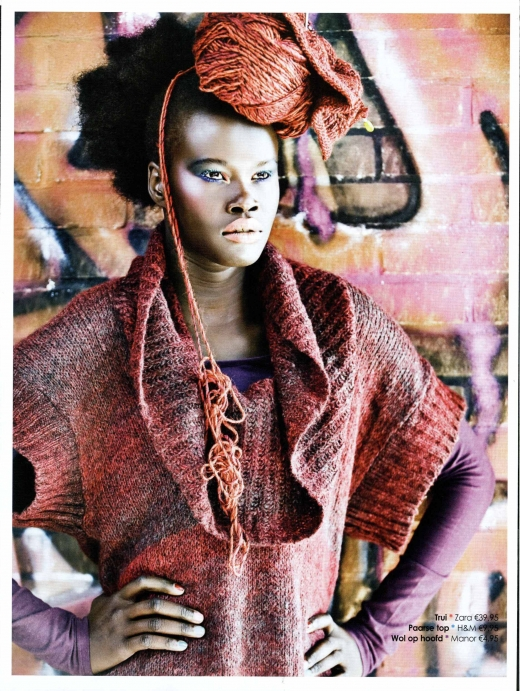 Adut's modeling pic