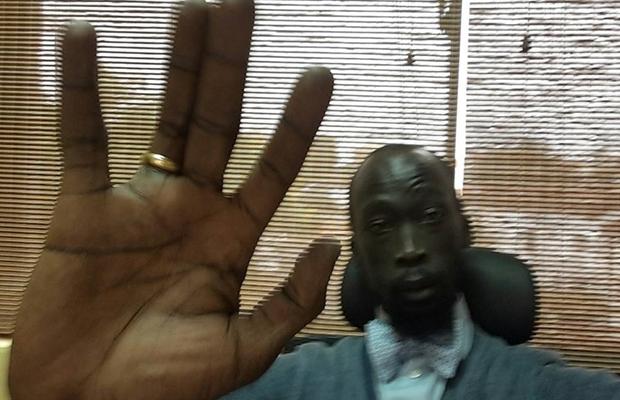Mabior Garang dating Christine Mathiang, sister to singer Manaseh Mathiang [Photos]