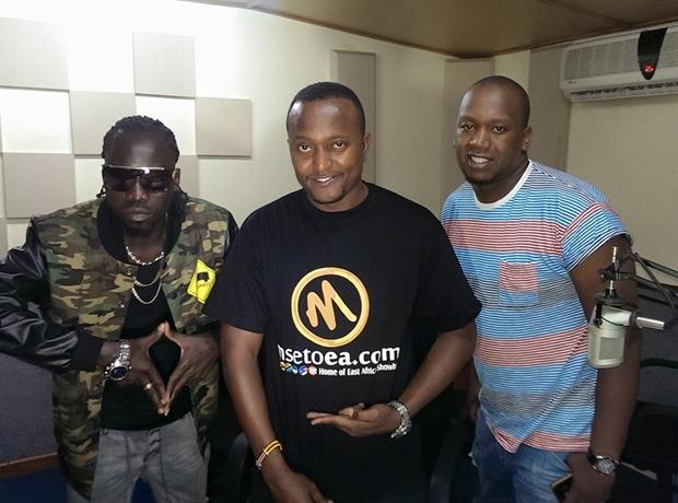 Silver X, Sebit William of Radio Miraya interrogated by police in Kenya