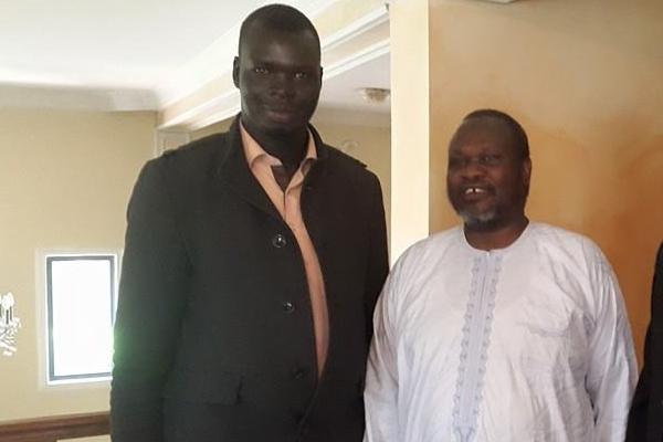 Rebel official Agel Machar threatens blogger John Masura