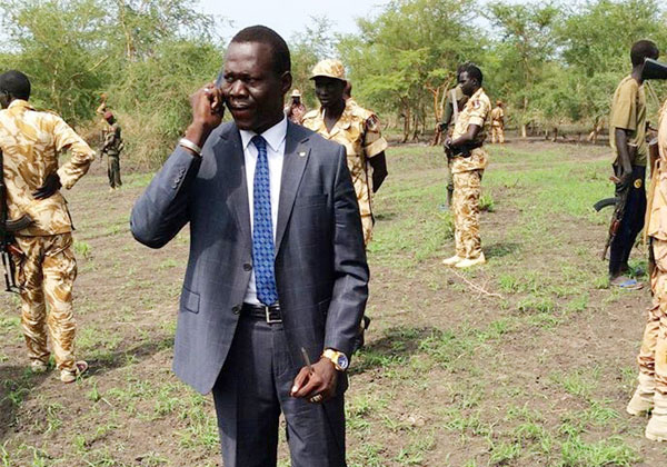 Newly appointed Unity State youth minister Lam Tungwar given heroic welcome during tour to Bentiu