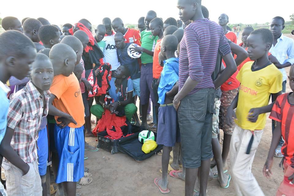 Awer Mabil in Kakuma
