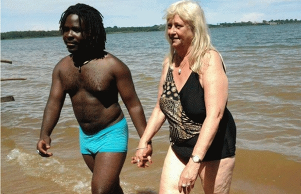 28-Year-Old Ugandan Singer Finds Soulmate In White Granny