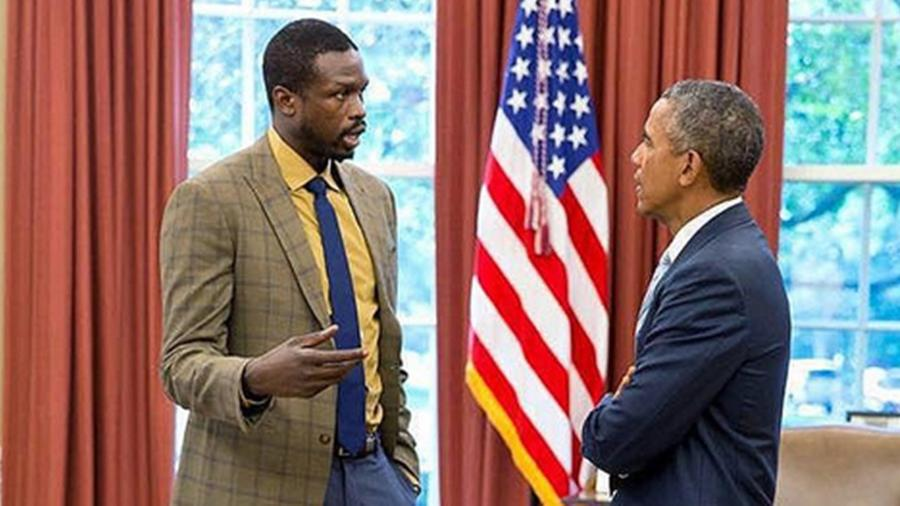 Luol Deng meets with Obama about future of South Sudan